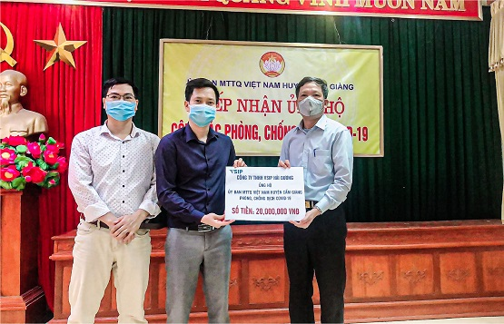 VSIP HAI DUONG JOIN HANDS TO PREVENT THE PANDEMIC