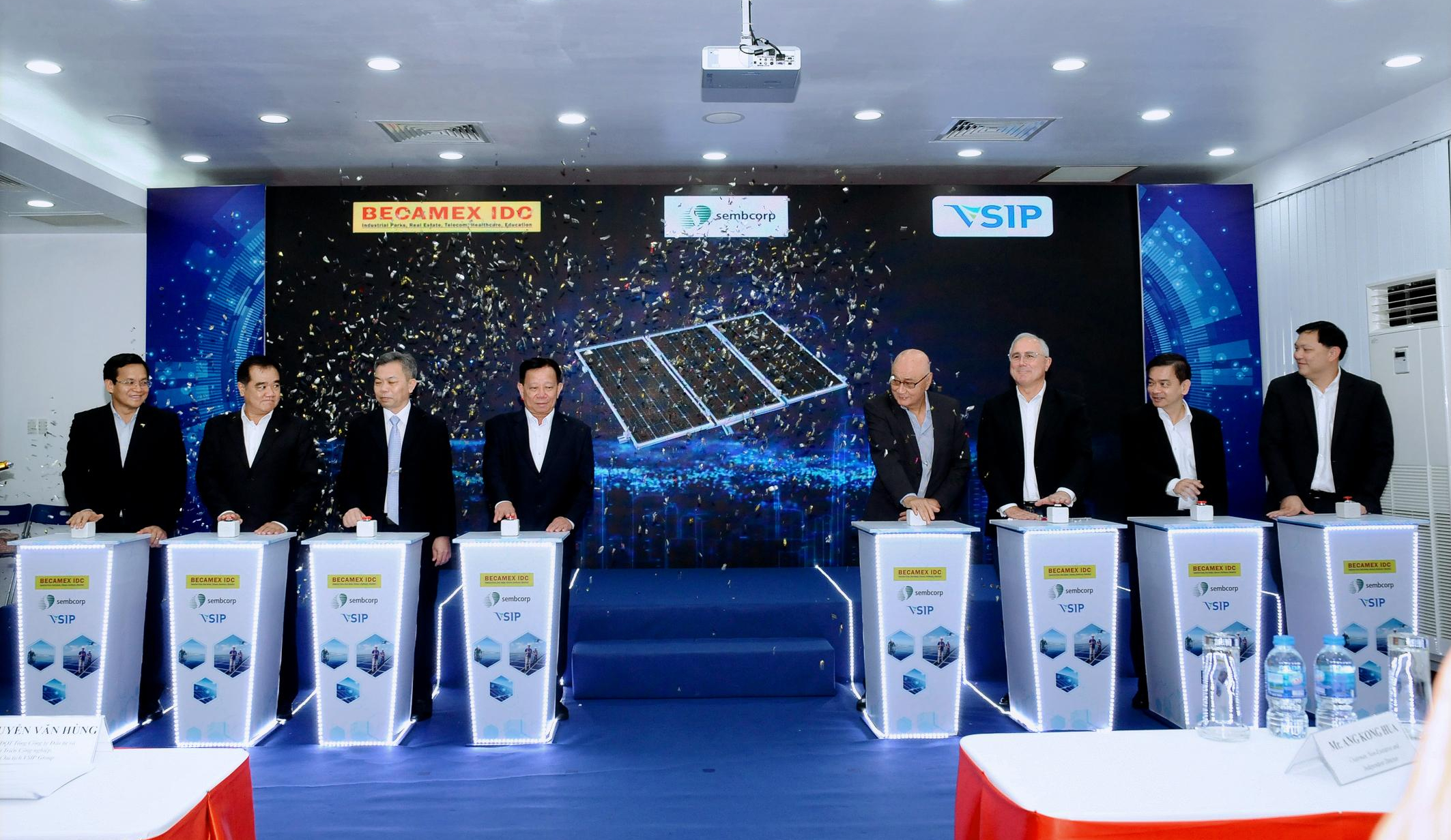 BECAMEX, SEMBCORP & VSIP LAUNCH SUSTAINABLE SMART ENERGY SOLUTIONS IN VIETNAM