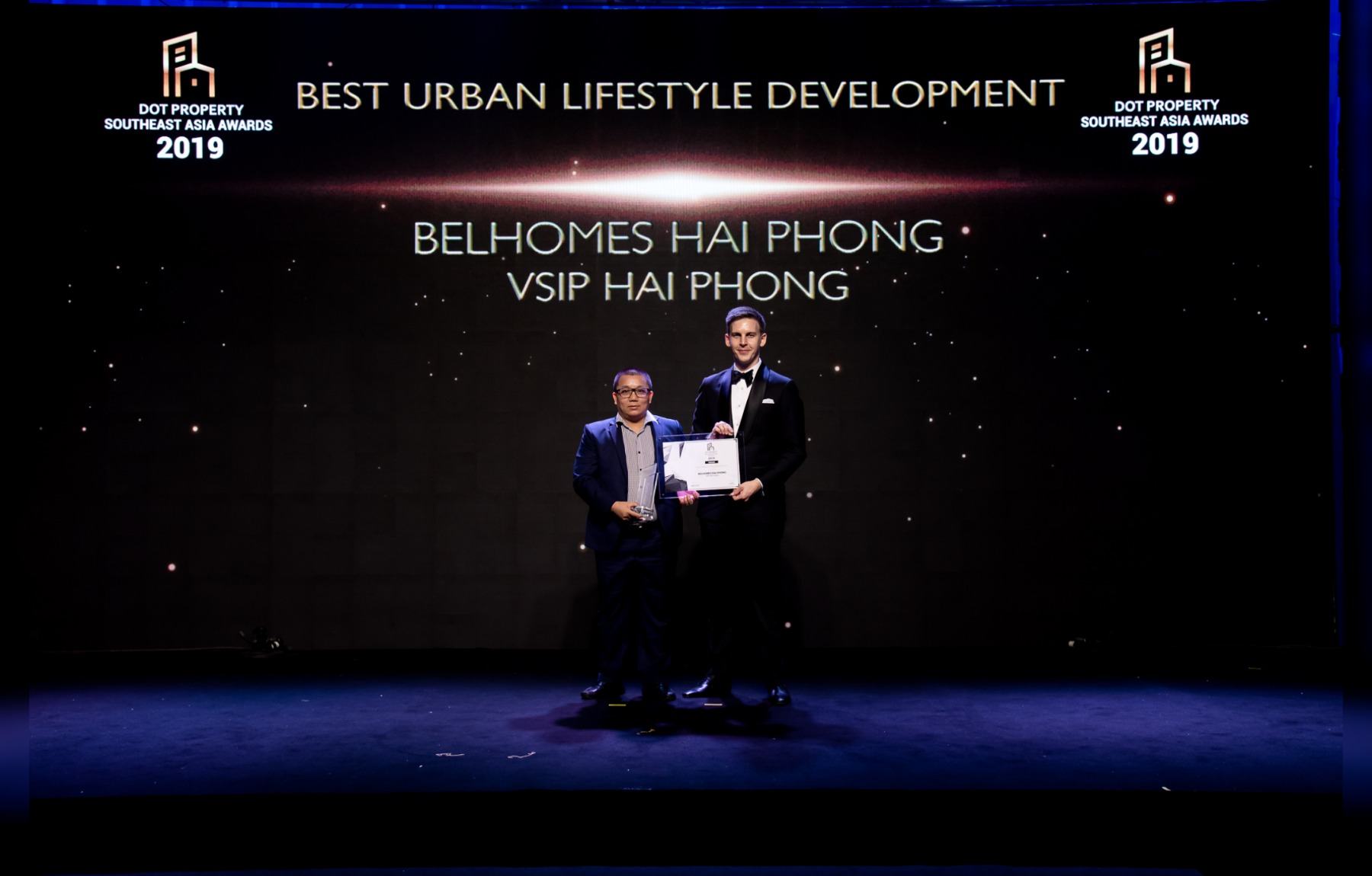 "BELHOMES HAI PHONG - THE WINNER OF ""BEST URBAN LIFESTYLE DEVELOPMENT 2019"" BY DOT PROPERTY"