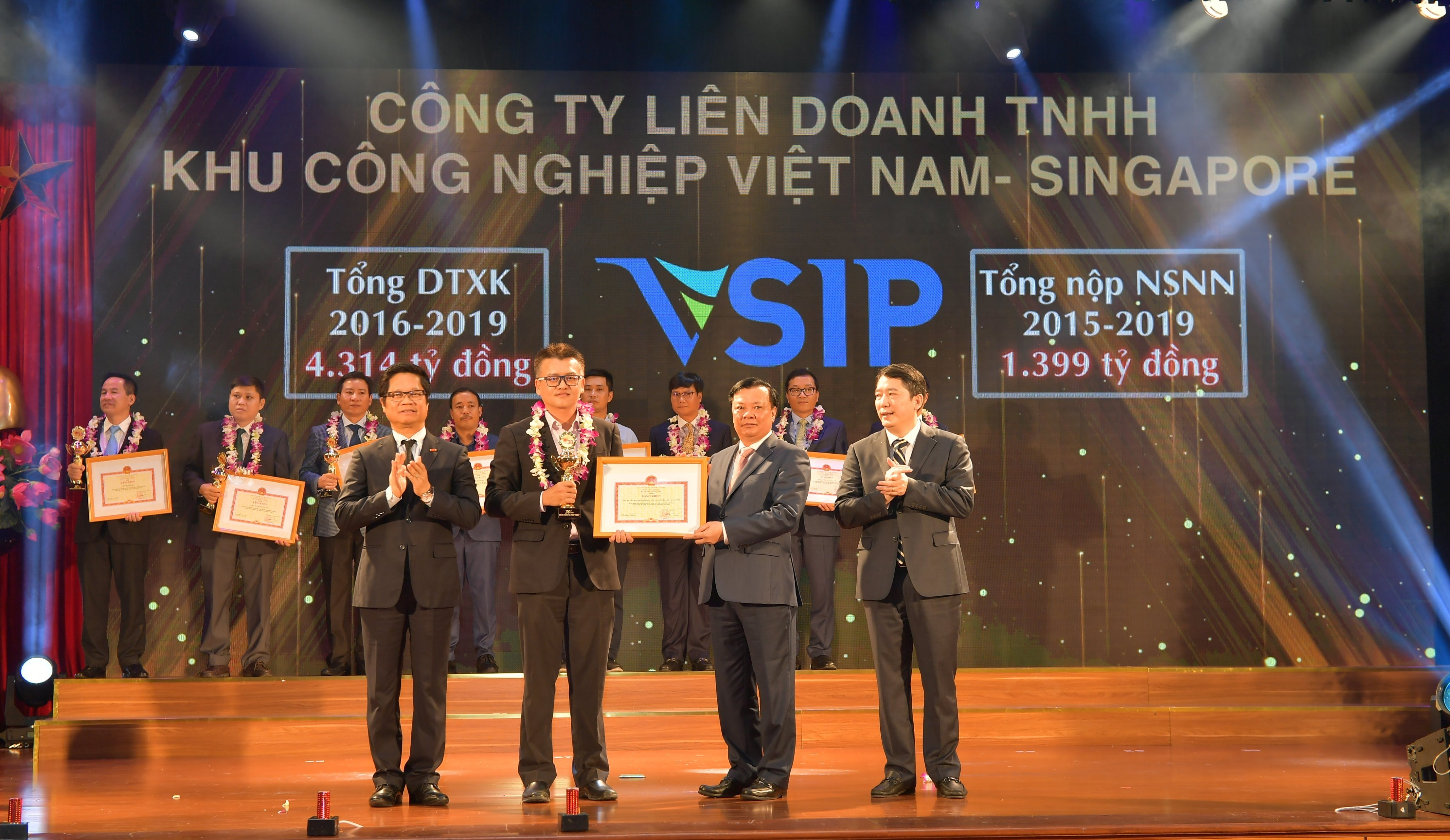 VSIP RECOGNIZED AS ONE OF 30 TYPICAL TAX PAYING ENTERPRISES