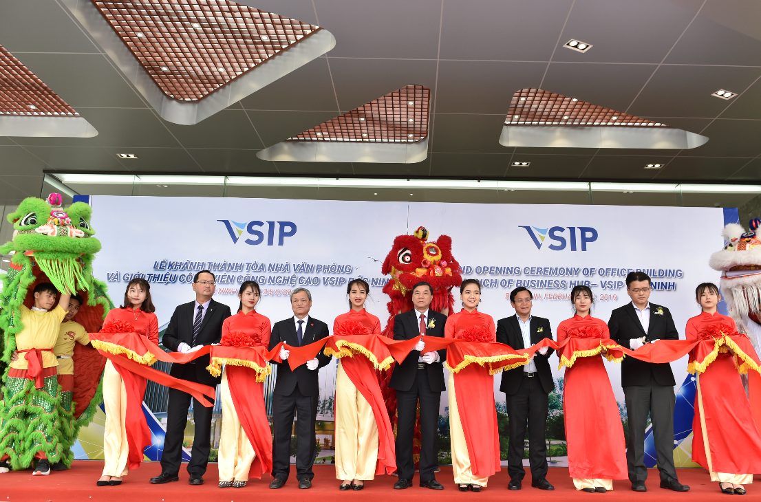 VSIP BAC NINH OPENS OFFICE BUILDING AND INNO-BIZ HUB